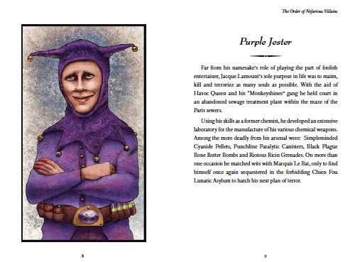 Purple Jester Spread