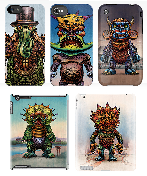 Kaiju iphone-ipad_ChetArt