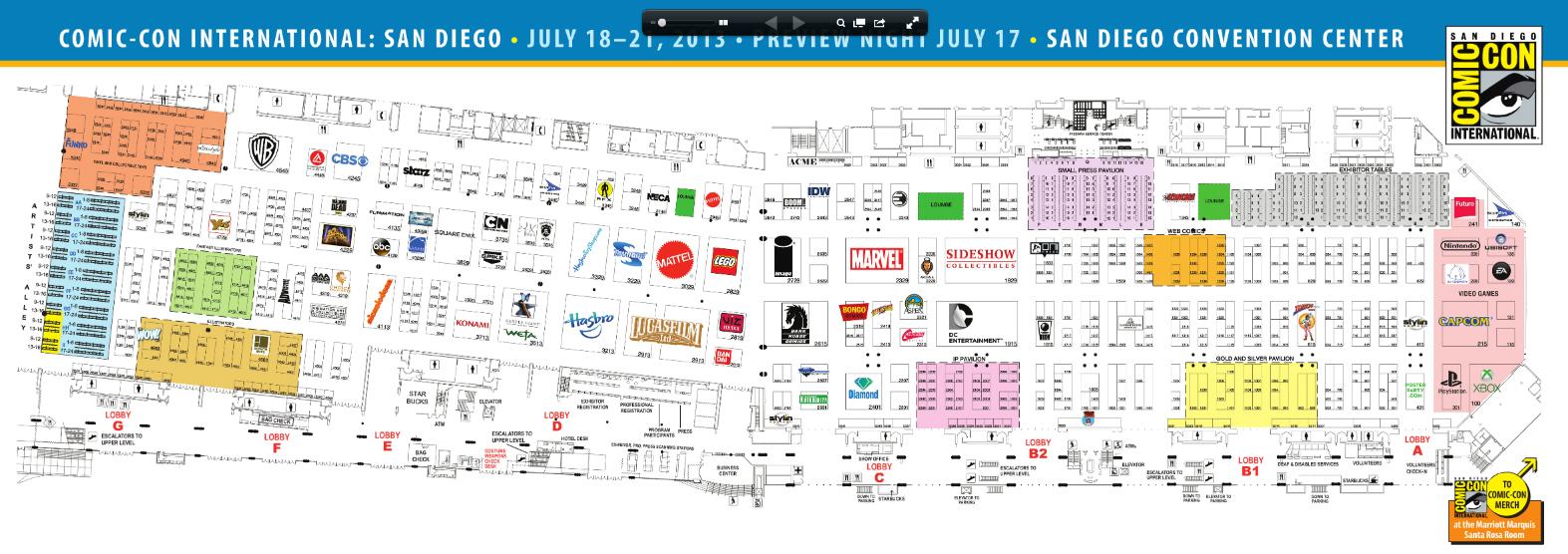 ComicCon2013map