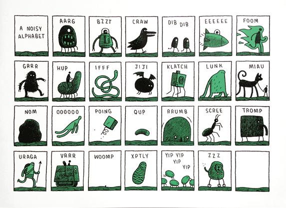 Tom Gauld-Alphabet