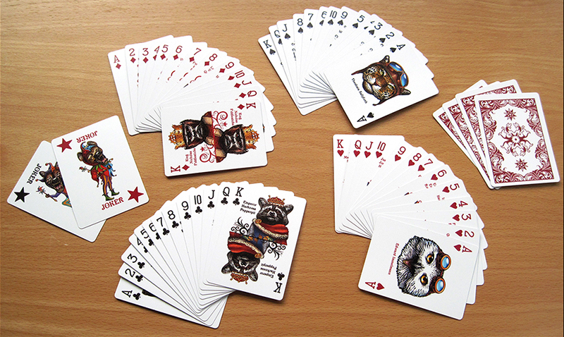 CardsFanned