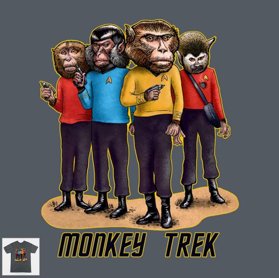 MonkeyTrekShirt