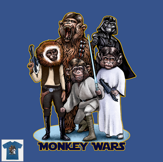 MonkeyWarsShirt